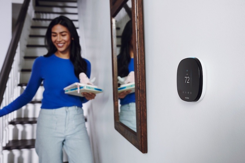 Ecobee Smart Thermostat Hallway