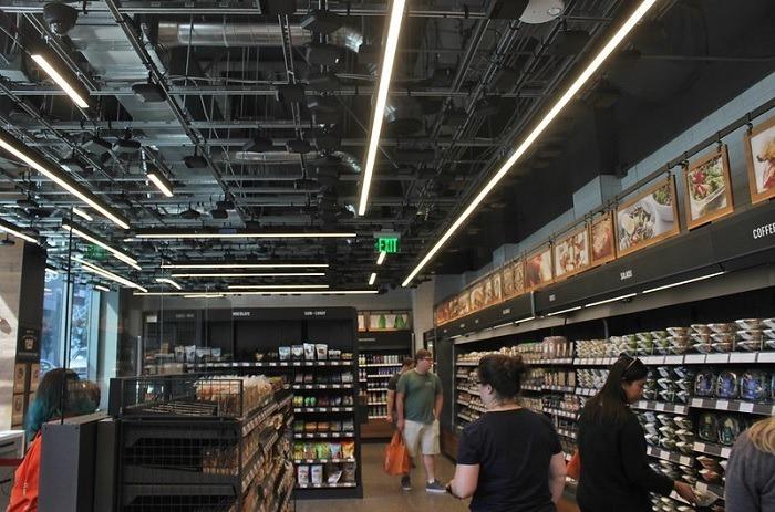 Amazon Go Store Sensors