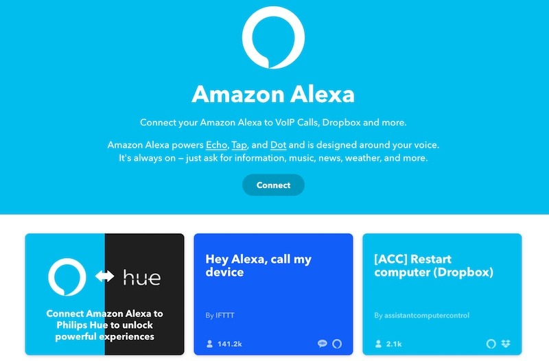 How To Use Ifttt Alexa Search
