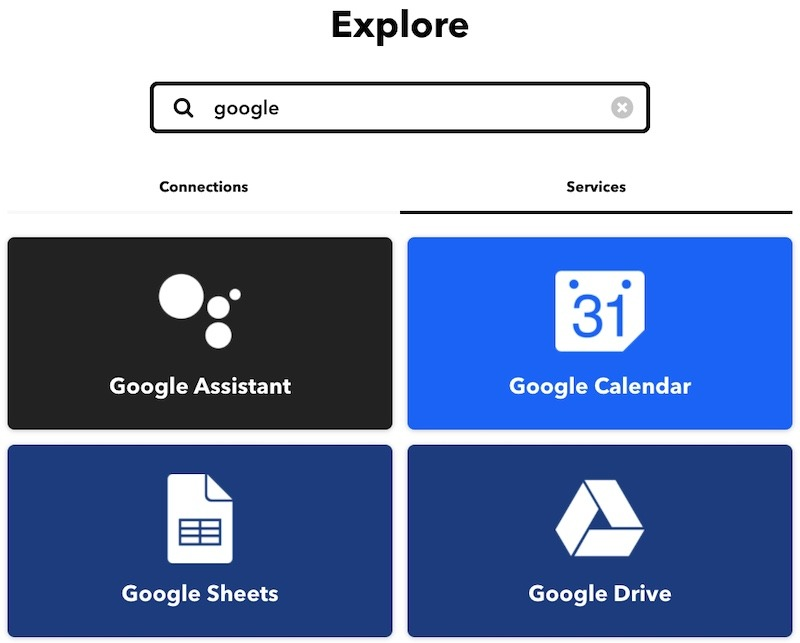 How To Use Ifttt Google Services