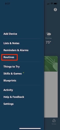 Make Use Alexa Routines First Step