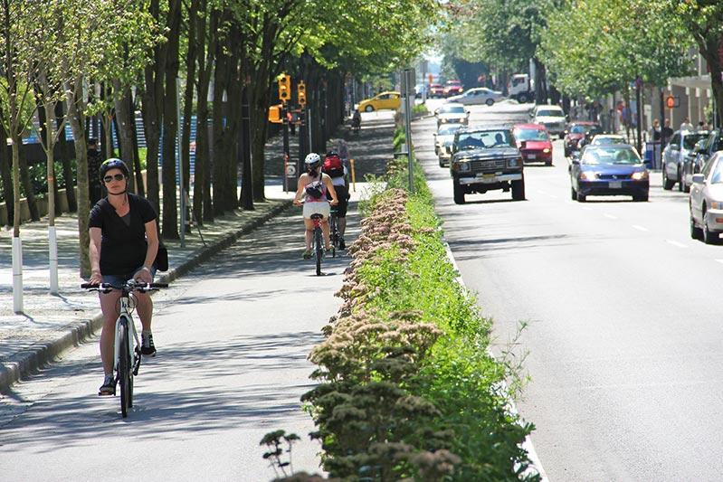 Micromobility Bike Lane