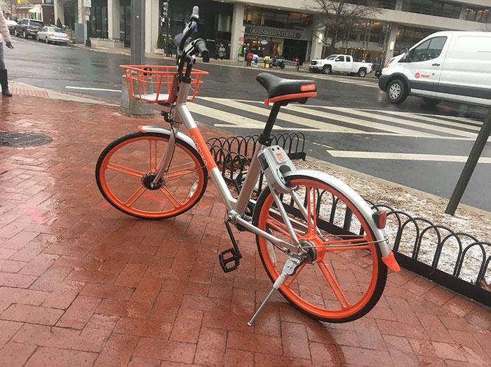 Micromobility Mobike
