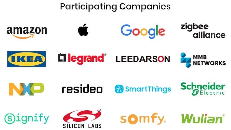 Zigbee Alliance Good News Companies