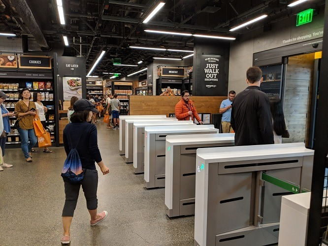 Amazon Go Gates
