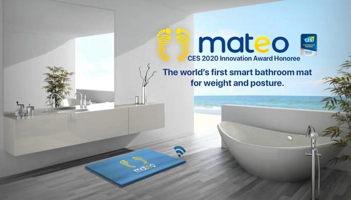 News Mateo Smart Bathroom Mat Content