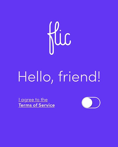 Review Flic Signup