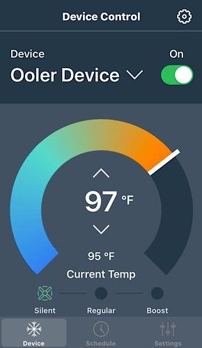 Review Ooler Temperature