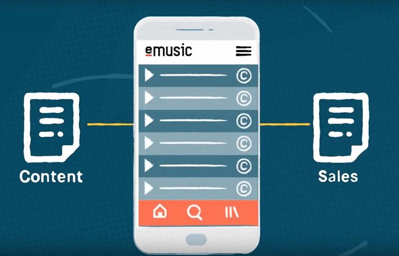 Blockchain Music Emusic App