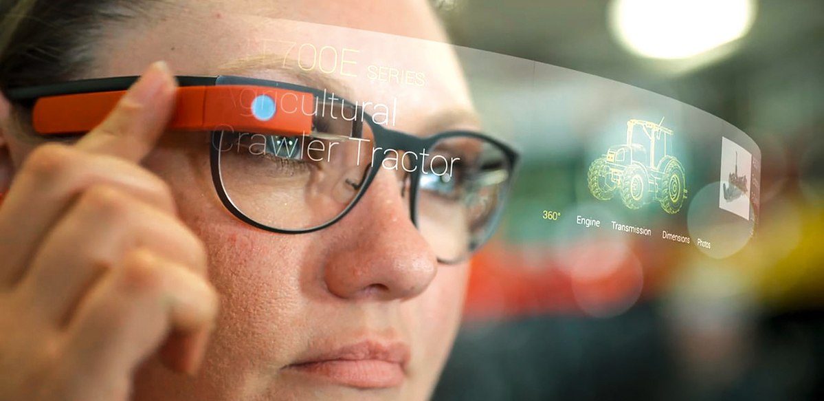 Solid State Smart Glasses Display