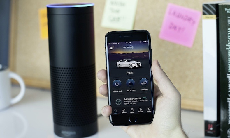 Voice Assistant Cars Mercedes Alexa