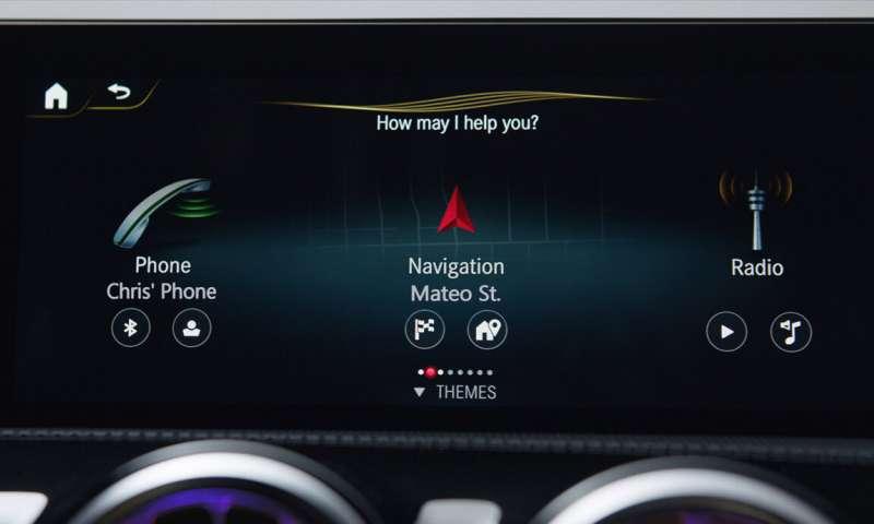Voice Assistant Cars Mercedes Mbx