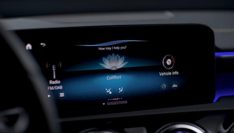 Voice Assistant Cars Mercedes