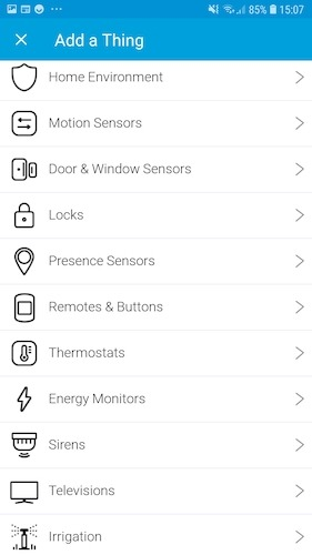 Smartthings Add Device Manually