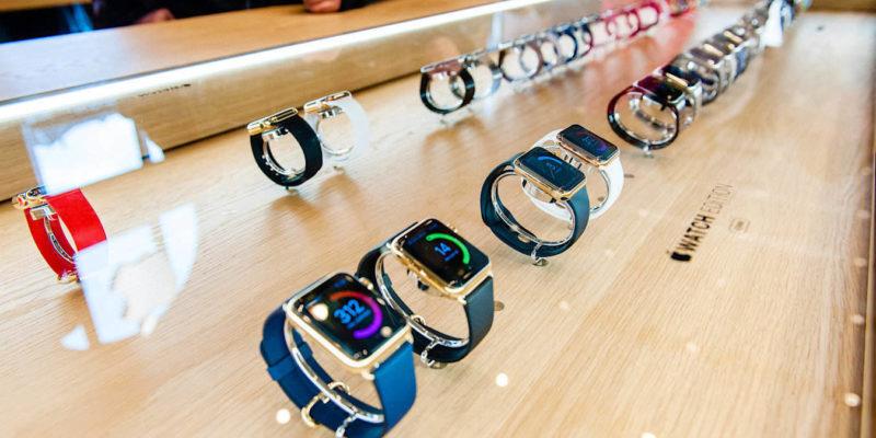 Apple Watch Close Up Details