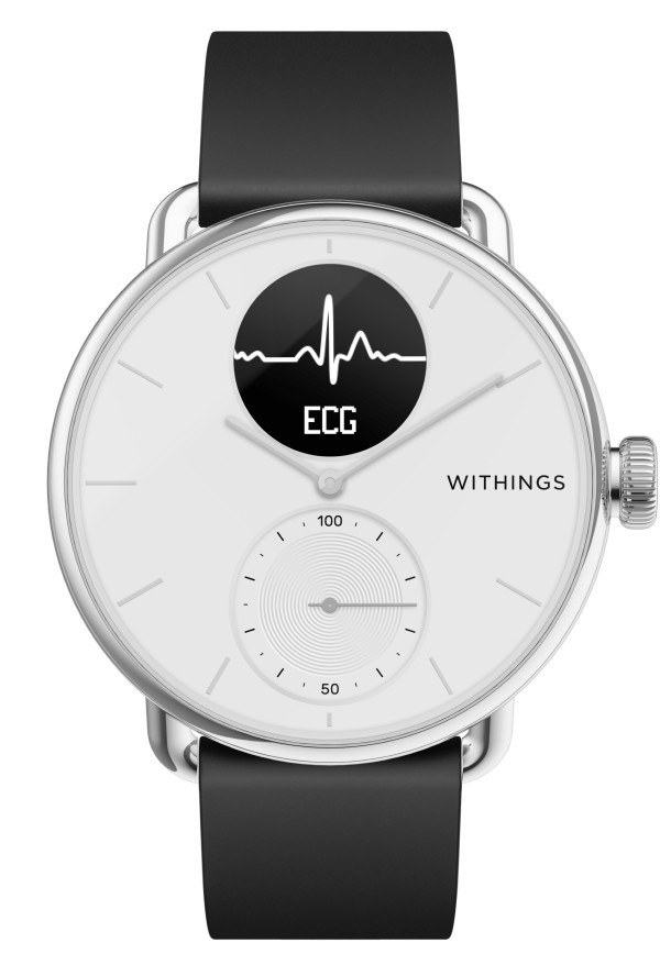 Ecg Wearables Scanwatch 38mm White