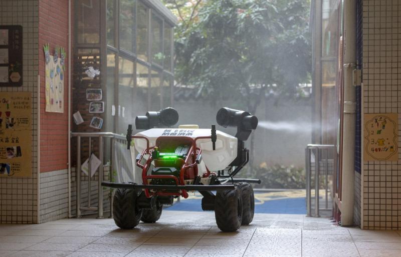 Xag R80 Disinfetant Spraying
