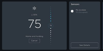 Ecobee Smartthermostat Voice Featured