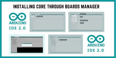 Installing Cores Through Boards Manager