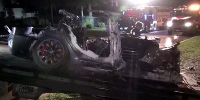 Fatal Tesla Crash Featured