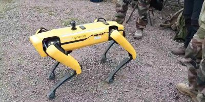 Spot the Robot Dog Tested in Combat Scenarios with French Army