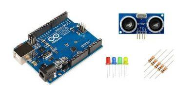 Interfacing Ultrasonic Sensor With Arduino Uno For Led Pattern